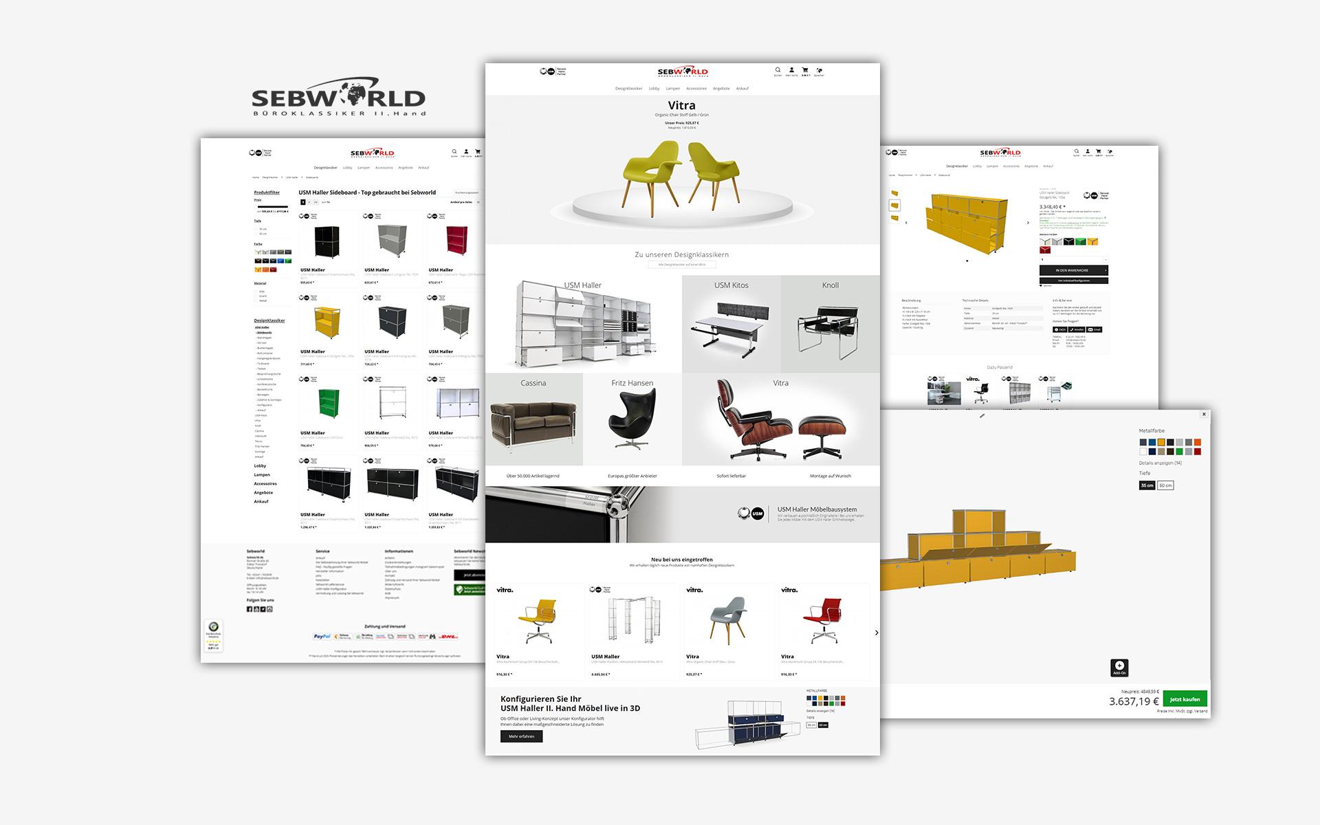 Layout und Konzept auf Shopware 5 der E-Commerce-Agentur: BS-Style GmbH. Darstellung der desktop Ansicht des Onlineshops von chiptuning.shop